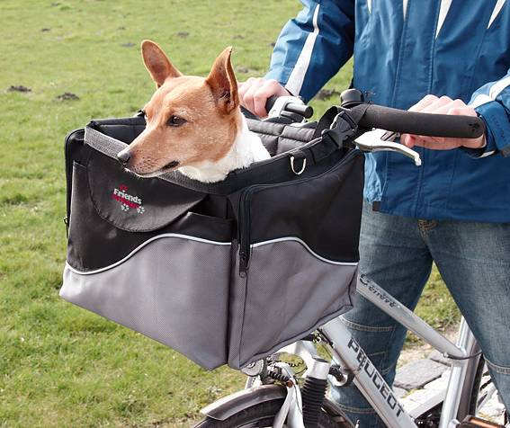 Trixie cykelkorg - box de luxe för styret