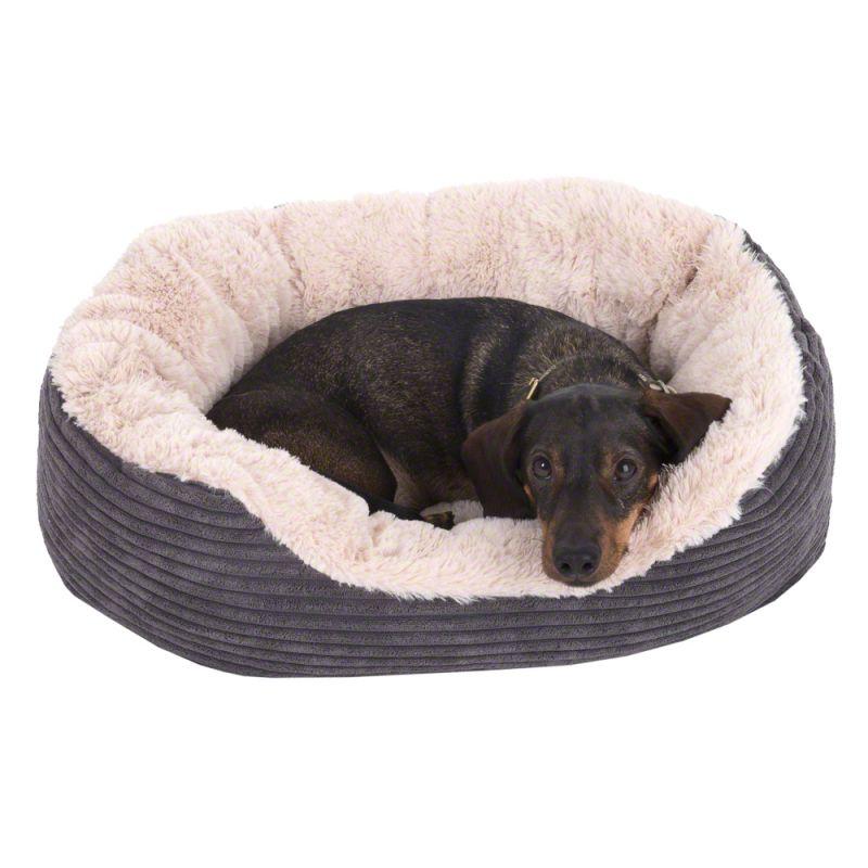 Cozy Cord mysig hundbädd